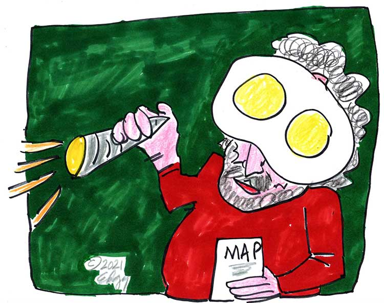 Edgy Cartoon